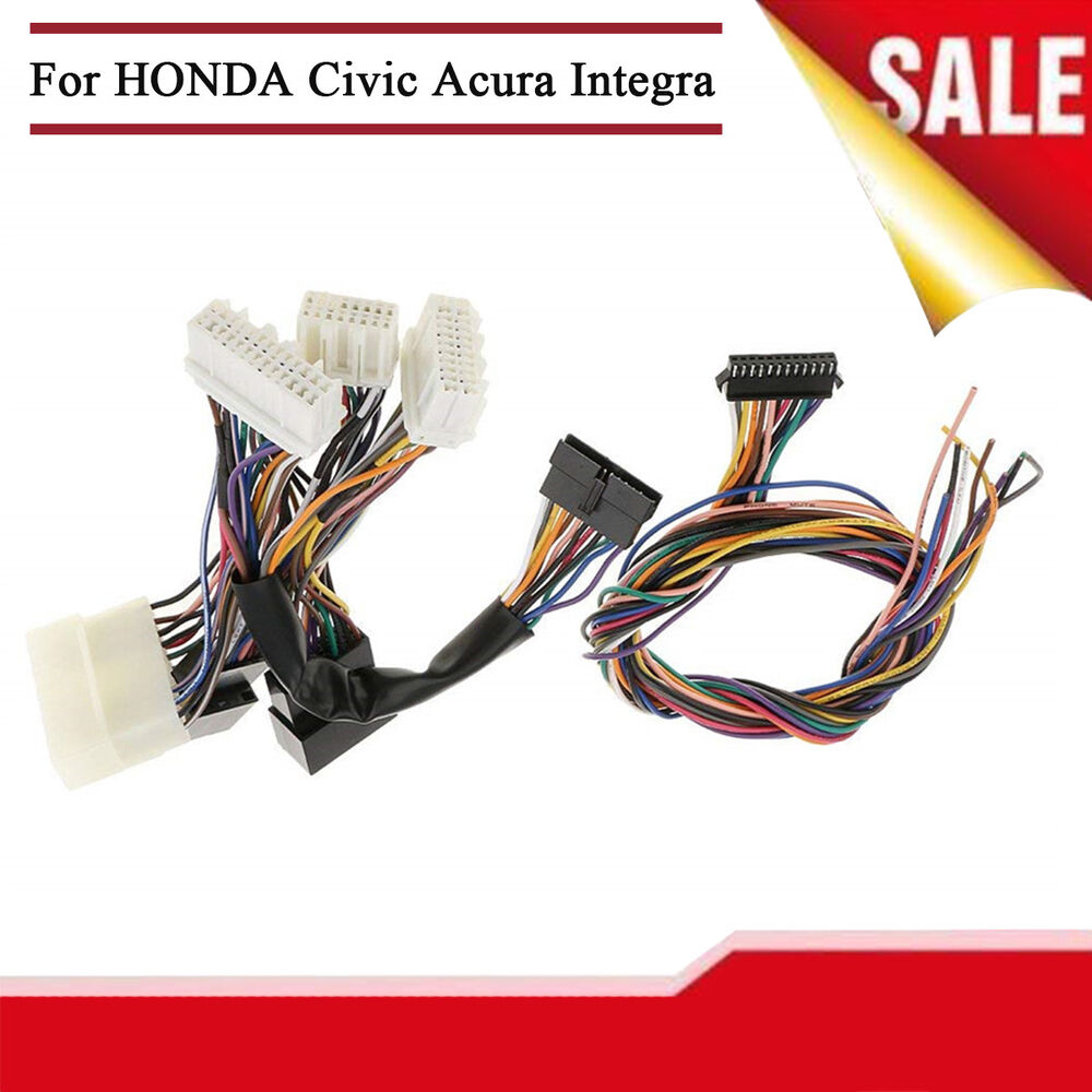 hight resolution of details about obd0 to obd1 ecu jumper conversion wiring harness for honda civic acura integra