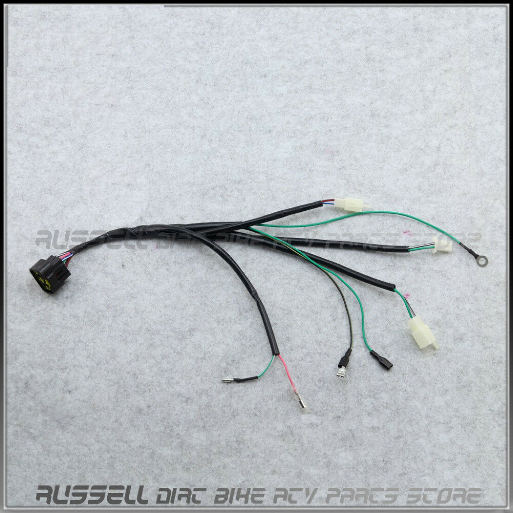 hight resolution of details about 8 pin cdi unit plug kick start wiring wire harness loom for lifan 150cc pit bike