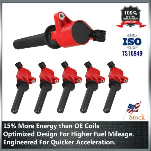 small resolution of details about new 6 pack ignition coil red for ford escape freestyle 3 0l v6 dg500 fd502 c1458