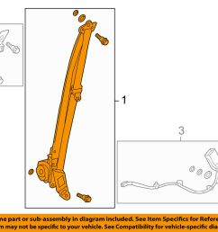 details about honda oem 13 16 accord front seat belt buckle retractor left 04818t2fa00zb [ 1000 x 798 Pixel ]
