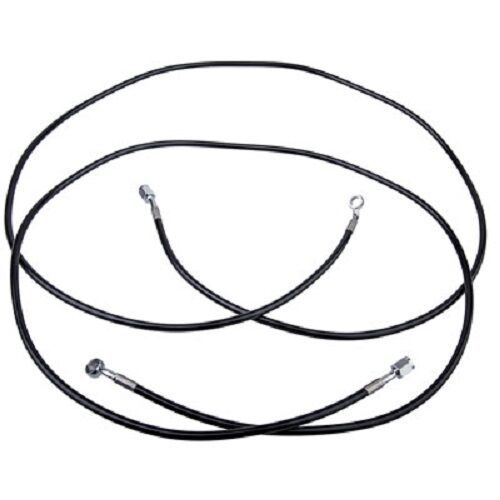 Tusk UTV Steel Braded Rear Brake Line POLARIS RZR XP 900