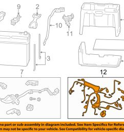 details about honda oem 12 13 civic 1 8l l4 battery engine wiring harness 32110r1aa53 [ 1000 x 798 Pixel ]