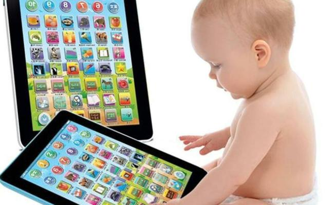 Mini Kids Laptop Tablet Ipad Computer Child Educational