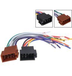 details about 2pcs female car iso radio wire wiring harness adapter connector adaptor plug [ 1000 x 1000 Pixel ]