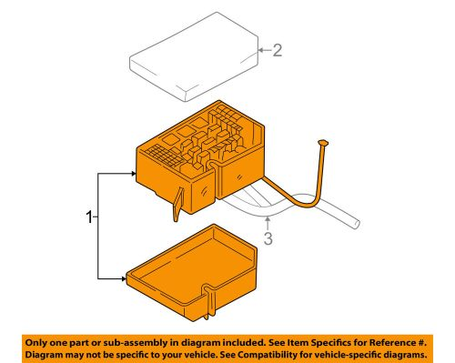 small resolution of details about hyundai oem 04 06 elantra electrical fuse relay box 912102d002