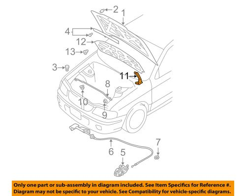 small resolution of body trim genuine nissan parts 65400 5m030 hood hinge assembly body trim