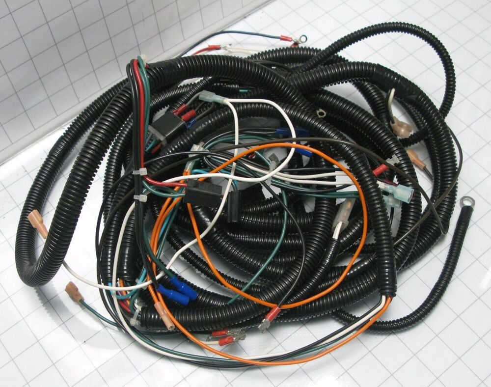 hight resolution of details about cushman wiring harness 889327 truckster haulster cart truck vehicle