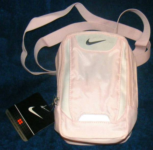 Nike Small Items Shoulder Strap Athletic Bag Pink