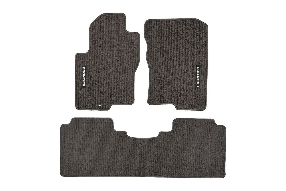 Nissan Frontier Crew Cab  Floor Mats Carpeted Charcoal