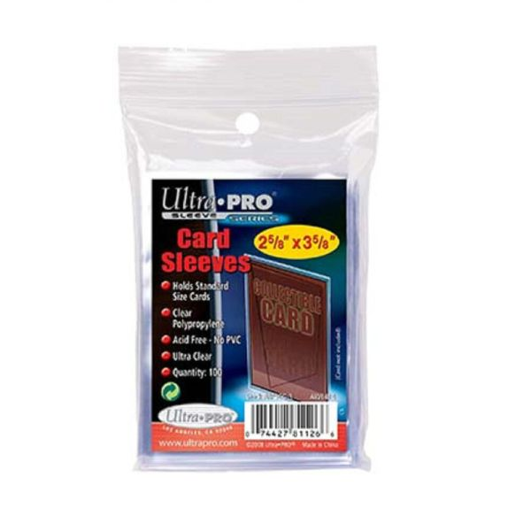 Ultra Pro 100 Trading Card Sleeves - Standard Size Deck