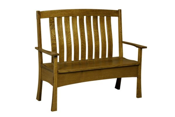 Amish Bench Wooden Wood Entry Benches Storage Seat New eBay