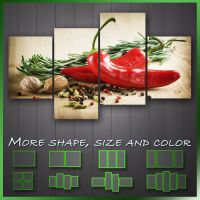 ' Herbs And Spices Kitchen Art ' Modern Kitchen Wall Art
