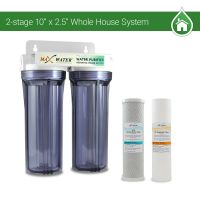 "2 Stage10"" Whole House Water Filter Sediment Carbon Filter ..."