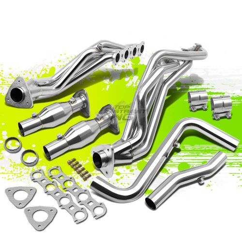 small resolution of details about for 99 04 ford f 150 f150 lightning 5 4l v8 8 2 s steel racing exhaust header