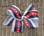 personalized embroidered red white