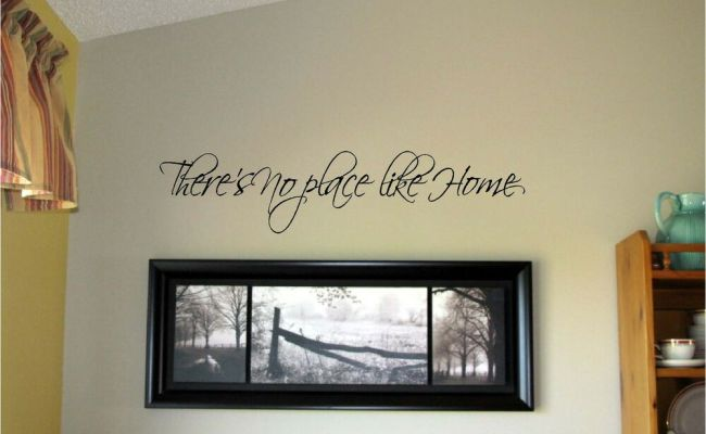 There S No Place Like Home Vinyl Wall Decal Stickers Decor