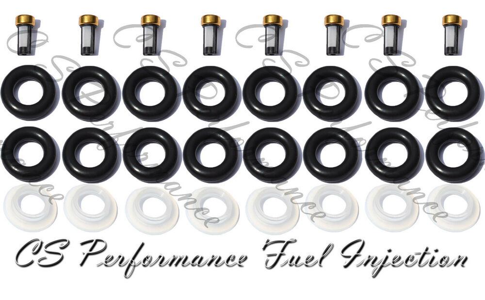 Chevy 5.7 Fuel Injector Repair Rebuild Service Kit Orings