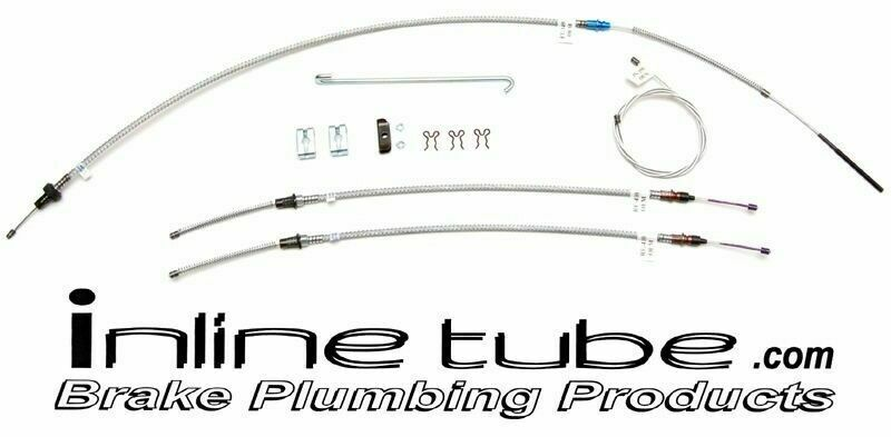 67 Camaro SS RS Z28 Copo Emergency Parking Brake Cable
