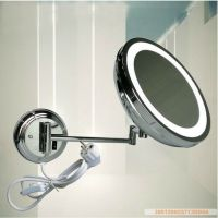 Magnifying Bathroom LED Lighted Wall Mounted Makeup ...