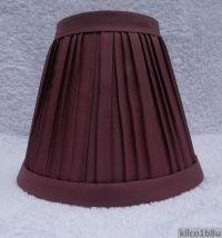 WINE Pleated Fabric Mini Chandelier Lamp Shade Traditional ...