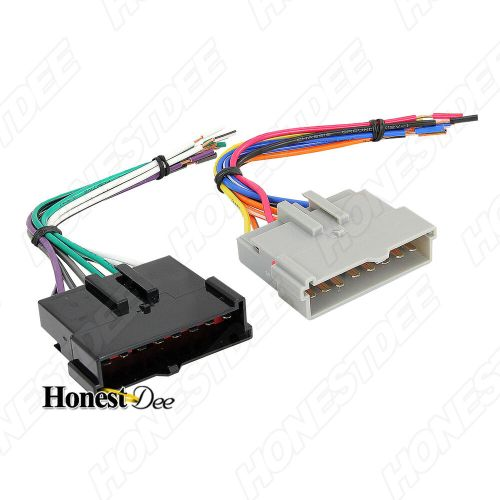 small resolution of aftermarket car stereo radio to lincoln wiring wire harness adapter