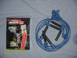 OBX Raciing Sports Blue Spark Plug Ignition Wires 9899