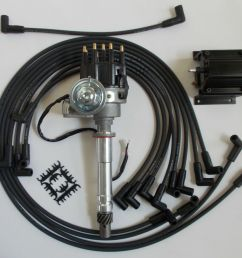 small block chevy 350 black small hei distributor coil plug wires small block chevy coil wiring [ 1000 x 884 Pixel ]