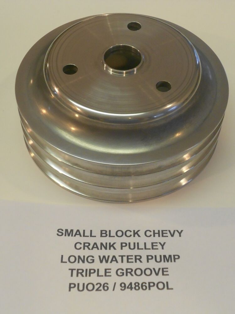 Small Block Chevy Pulley Diagram