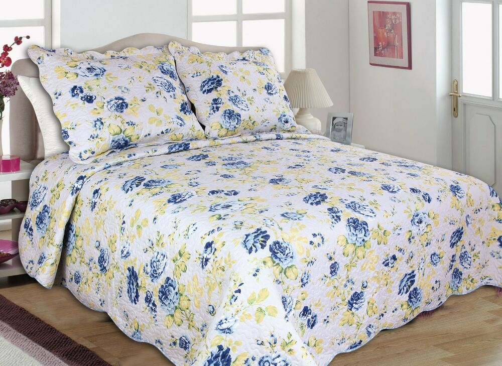 41-42 All For You 3PC Quilt Set, Bedspread, Coverlet