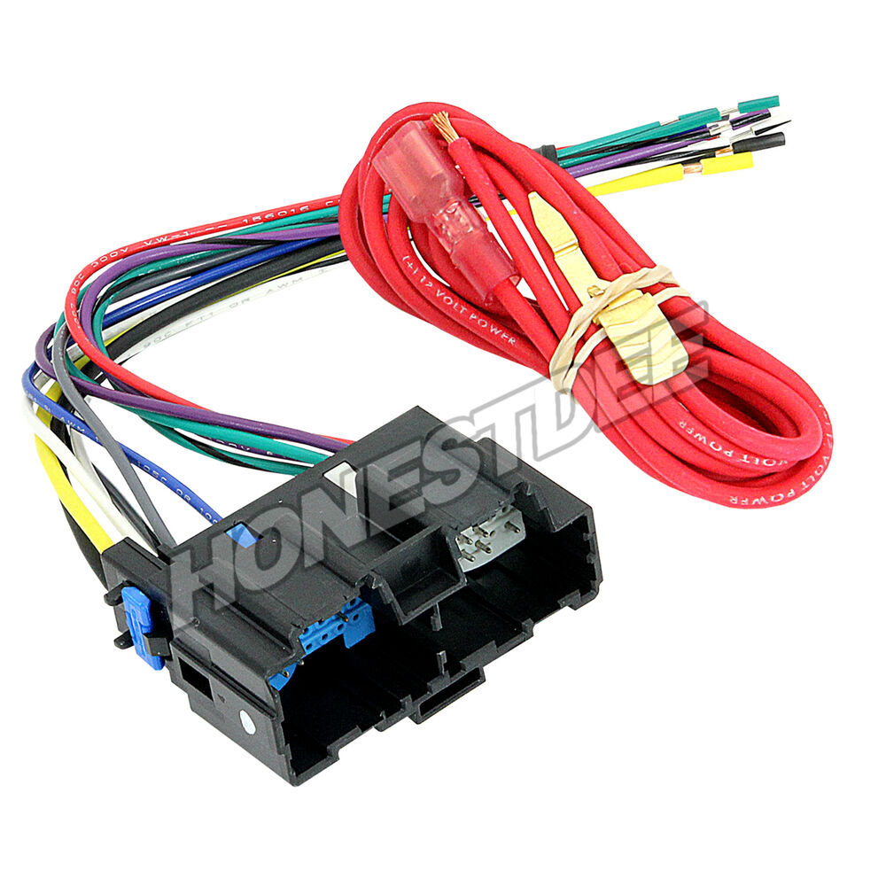 medium resolution of details about aftermarket car stereo radio to aveo g3 wire harness adapter plug 70 2105