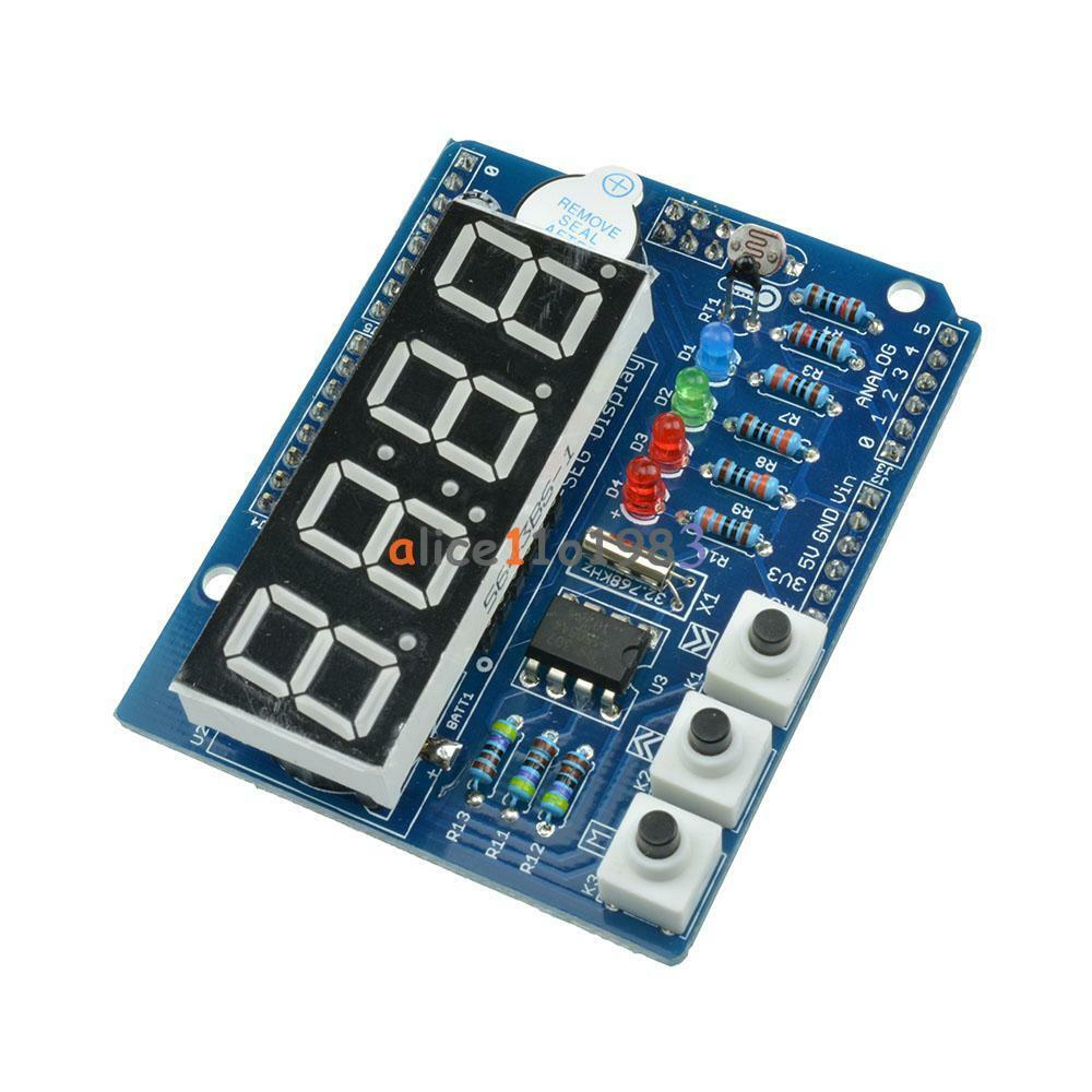 Arduino Real Time Clock Shield Schematic
