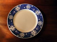 8 Royal Norfolk vintage blue and white Christmas or ...
