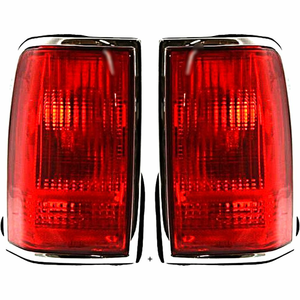 medium resolution of details about fits 90 97 ln town car tail lamp light w chrome trim w o logo right left se