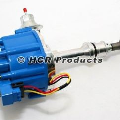 Ford Hei Ignition Dishwasher Wiring Diagrams Whirlpool 5.0 Distributor Efi To Carb Conversion Blue Cap 50k Volt Coil Sbf 302   Ebay