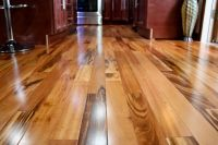 "4"" Clear Prefinished Solid Brazilian Tigerwood Koa Wood ..."