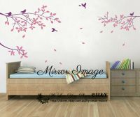 Large Tree Branches Bird Wall stickers Wall Decal ...