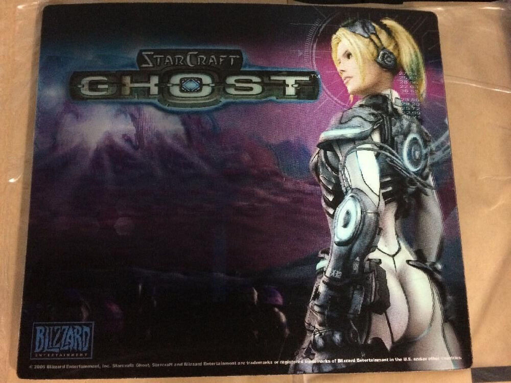RARE Limited Edition Blizzard Starcraft Ghost Hologram