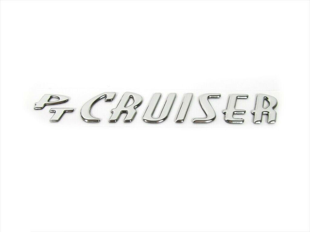 2001-2010 Chrysler PT Cruiser Emblem Decal Nameplate MOPAR