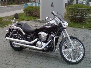 Kawasaki Vulcan VN900 Custom VN 900 Classic Chrome Engine