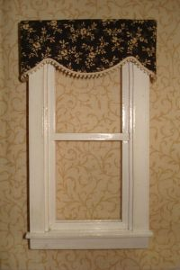 Black Curtains With Valance. Hall: Window Valances With ...