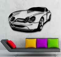 Wall Stickers Vinyl Decal Muscle Car Excellent Garage ...