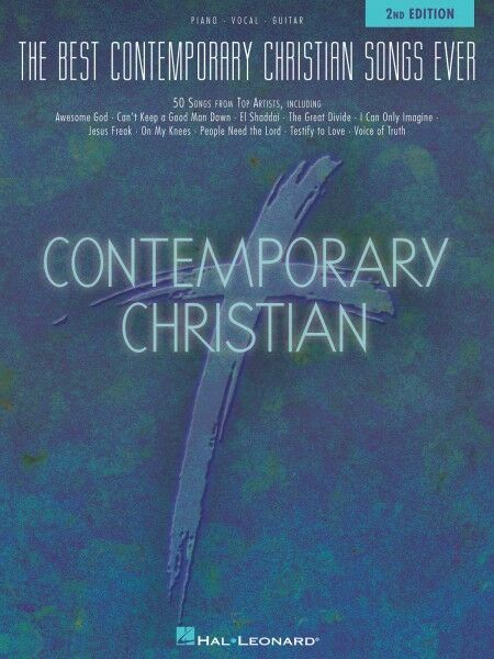 The Best Contemporary Christian Songs Ever 2nd Edition Sheet Music Pia 000311985  eBay