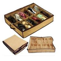 New Women Home 12 Pairs Shoe Organizer Storage Box Holder