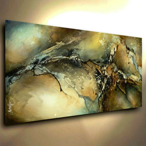 Abstract Art Modern Contemporary Giclee Canvas Print Of