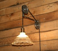 Large Pulley Wall Mount FOR YOUR Pendant Light ...
