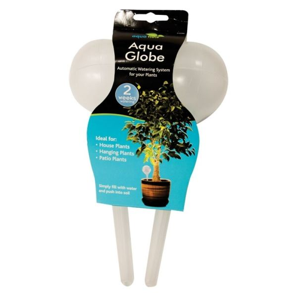 2 X Plant Watering Bulbs Aqua Globe System Plants Indoors Outdoors