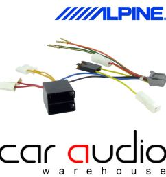 details about alpine 10 pin iso head unit replacement car stereo radio wiring harness ct21al05 [ 1000 x 1000 Pixel ]