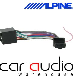 details about alpine 16 pin iso head unit replacement car stereo radio wiring harness ct21al01 [ 1000 x 1000 Pixel ]