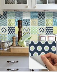 Tile Vinyl Stickers Decorative Kitchen Bathroom: Fmix1 ...