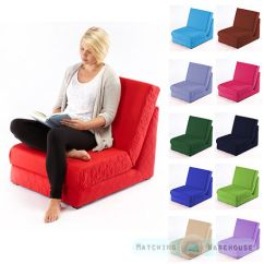 Flip Out Sofas White Sofa Red Rug Folding Z Bed Single Chair 1 Seater Fold ...